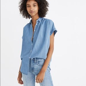 Madewell Central Shirt in Roberta Indigo